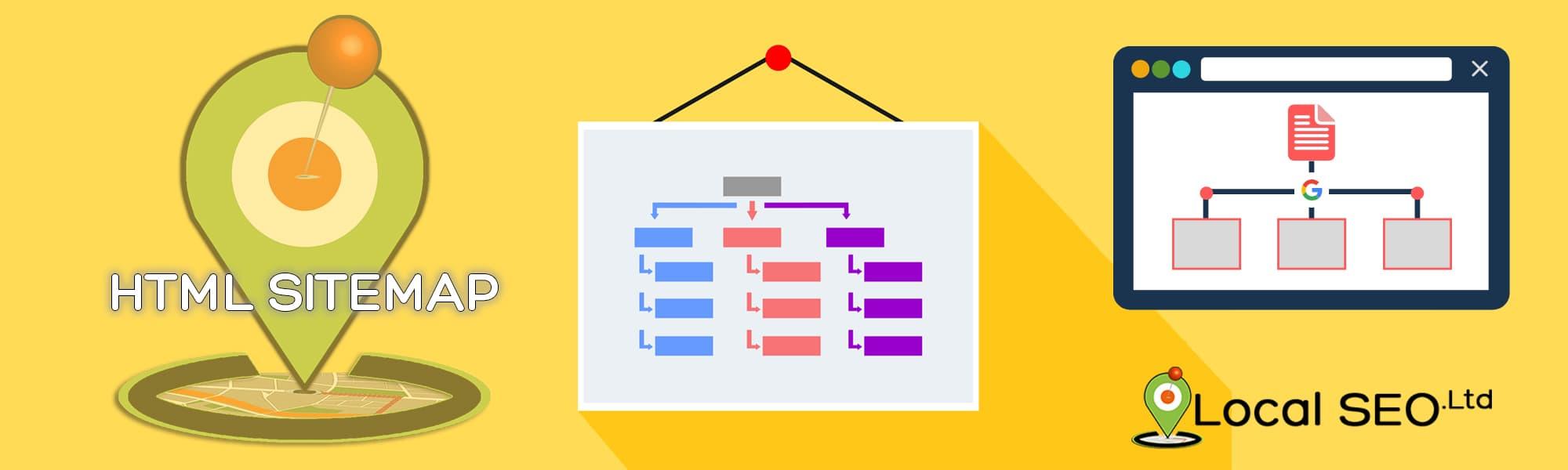 HTML Sitemap Header